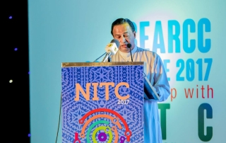 Guest of Honour Prof Malik Ranasinghe