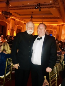 Mike Hinchey with Internet founder and former Turing Award winner, Vint Cerf