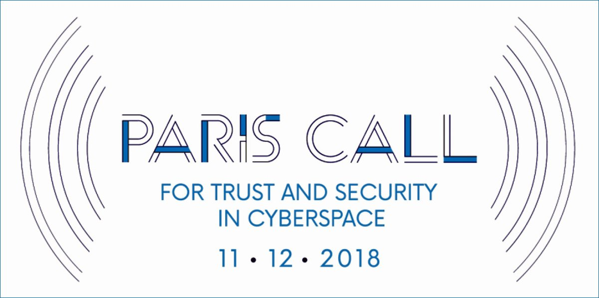 Major Players Back Paris Call for Trust and Security in Cyberspace