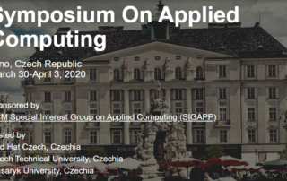 ACM/SIGAPP Symposium on Applied Computing