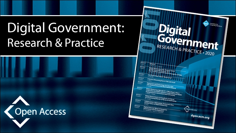 Digital Government: Research and Practice (DGOV)