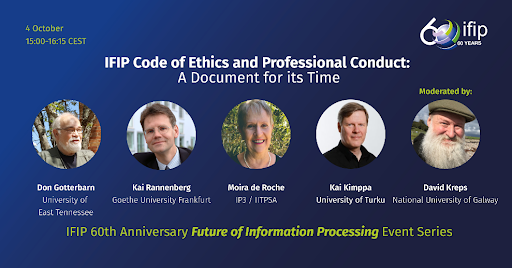 IFIP#60 Future of Information Processing Event Series Continues